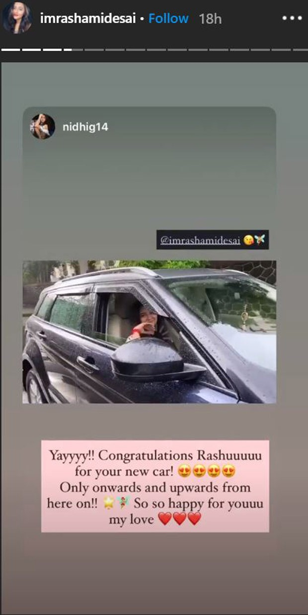 Rashami Desai becomes the owner of a luxury car; shares pictures