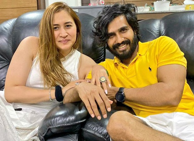 Actor Vishnu Vishal gets engaged to badminton player Jwala Gutta on her birthday; see pics