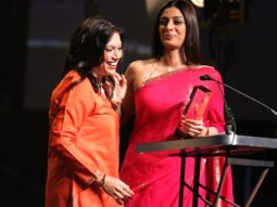 Mira Nair honoured at The TIFF Tribute Awards; Tabu presents the award