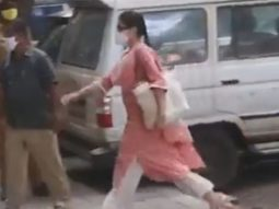 Watch: Sara Ali Khan arrives at NCB office for questioning