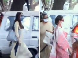 Watch: Shraddha Kapoor and Sara Ali Khan leave NCB office after questioning