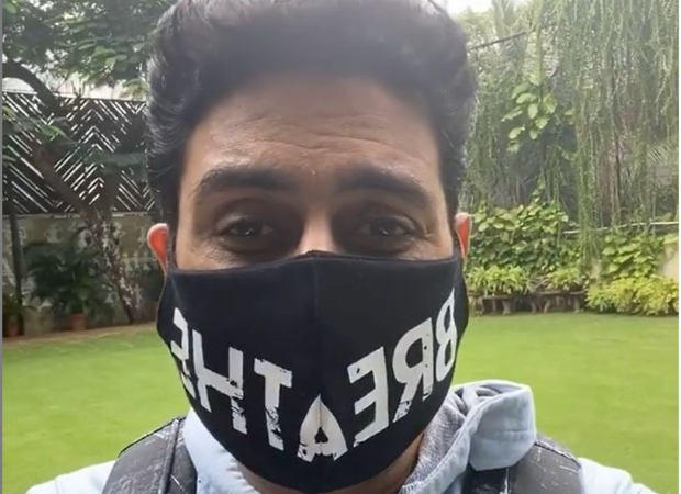 Abhishek Bachchan requests people to keep their mask on and not take the virus lightly