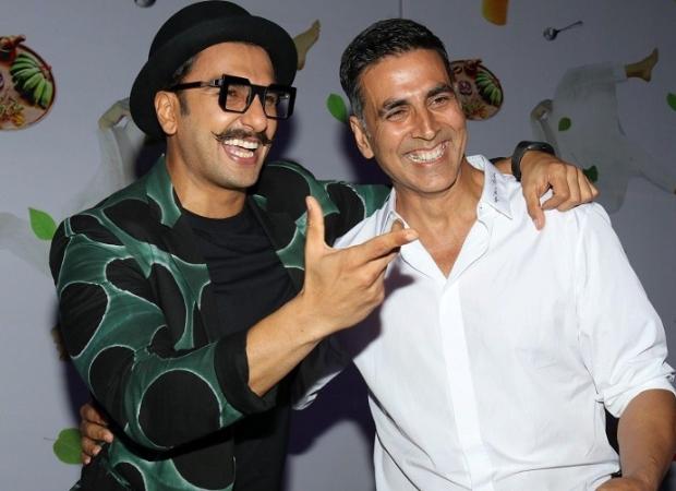Ranveer Singh crashes Akshay Kumar's live session with Bear Grylls