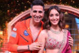 Akshay Kumar and Kiara Advani at The Kapil Sharma Show Laxmii