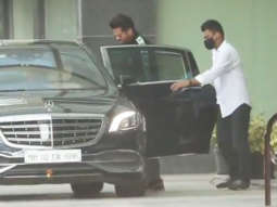 Anil Kapoor spotted at Dharma office Andheri