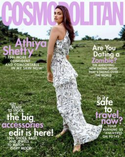 Athiya Shetty On The Cover Of Cosmopolitan