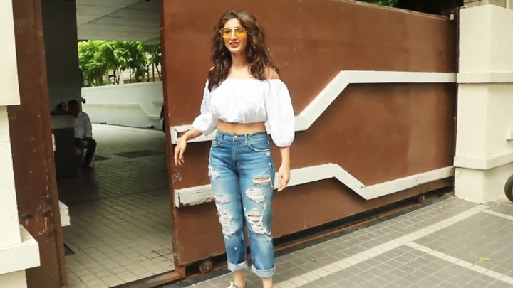 Dhvani Bhanushali spotted at old T-Series office Andheri