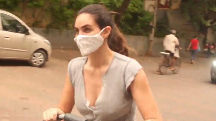 Gabriella Demetriades spotted in Bandra