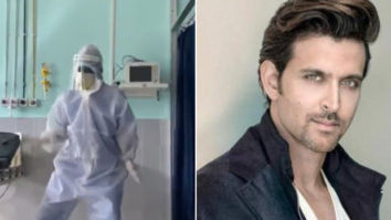 Video of doctor dancing to Ghungroo in PPE suit goes viral; Hrithik Roshan gives heartwarming reaction