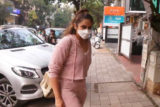 Huma Qureshi Snapped At Bandra