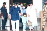 Kareena, Saif and Taimur spotted at Airport