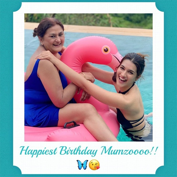 Kriti Sanon and Nupur Sanon share sweetest birthday wishes for their mother Geeta