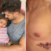 Kunal Kemmu gets a new tattoo and it is dedicated to his three-year-old daughter Inaaya Naumi