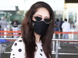 Nushrat Bharucha spotted at Airport