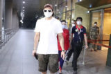 Ranveer Singh spotted at airport arrival