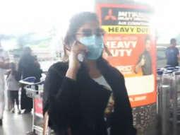 Richa Chadda spotted at the airport