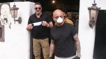 Sanjay Dutt spotted at Hakim Alim Salon Bandra