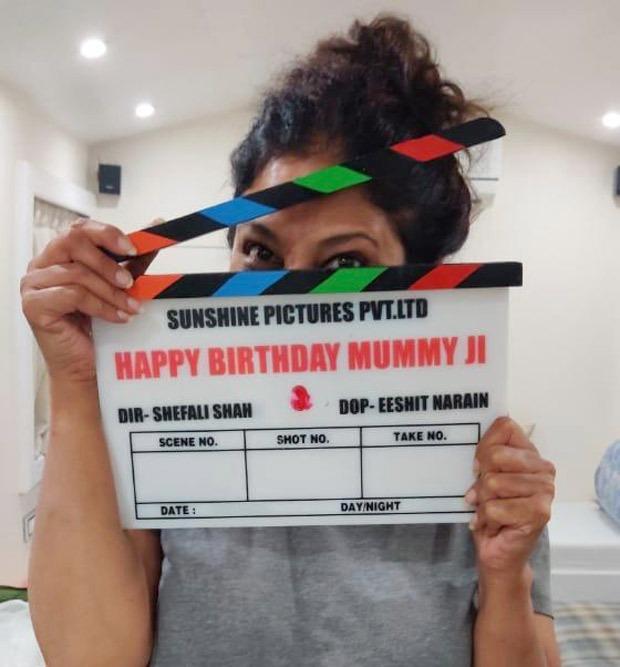 Shefali Shah kicks off her second directorial venture Happy Birthday Mummy Ji