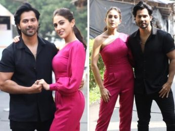 The Kapil Sharma Show: Coolie No. 1 pair Varun Dhawan and Sara Ali Khan kick-start promotions in style