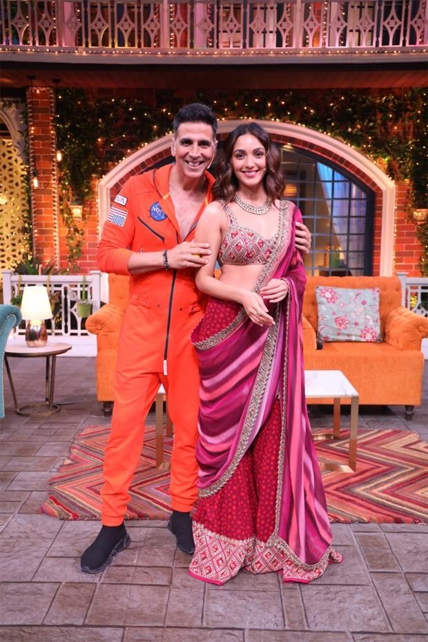 The Kapil Sharma Show:Kiara Advani brings home-baked cookies for the cast