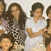 This throwback picture of Hrithik Roshan being a goof around Sridevi will brighten your day!