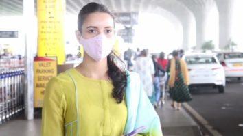Tripti Dimri spotted at Airport