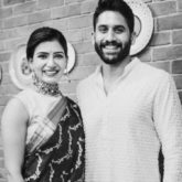 Here's looking back at dreamy wedding pictures of Samantha Akkineni and Naga Chaitanya as they celebrate three years of marriage