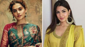 """""""Hope her time in jail has sufficed the egos of a lot of people,"""" says Taapsee Panu after Rhea Chakraborty gets bail"""