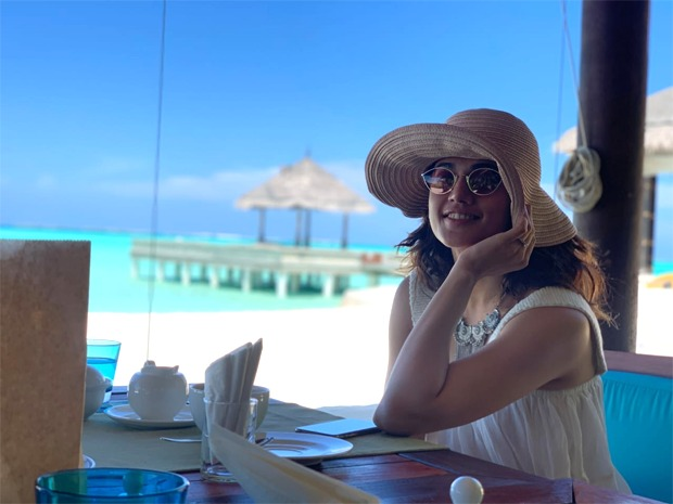 PICS: Taapsee Pannu shares absolute stunning pictures from her Maldives vacation