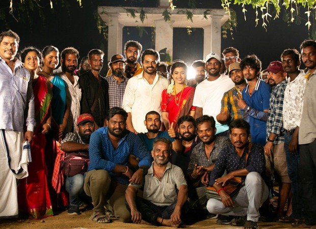 Rashmika Mandanna wraps up the shoot of her debut Tamil film Sulthan