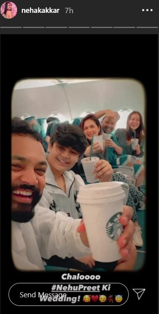 Neha Kakkar shares pictures from the day Rohanpreet Singh proposed her for marriage