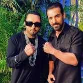 Yo Yo Honey Singh shoots 'Shor Macheygaa' song for John Abraham and Emraan Hashmi starrer Mumbai Saga