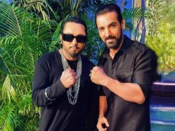 Yo Yo Honey Singh shoots 'Shor Macheygaa' song for John Abraham and Emraan Hashmi starrer Mumbai Saga