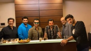 Anil Kapoor, Arjun Kapoor, Boney Kapoor celebrate Sanjay Kapoor's birthday with family gathering