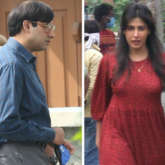 Abhishek Bachchan and Chitrangda Singh's looks leaked from their new schedule of Bob Biswas in Kolkata