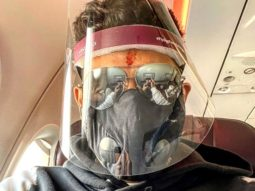 Abhishek Bachchan commences another schedule for Bob Biswas in Kolkata, shares flight picture wearing a face shield