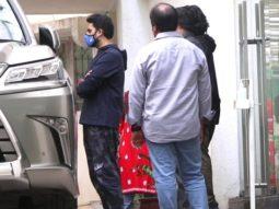 Abhishek Bachchan spotted at Sunny Super Sound Juhu
