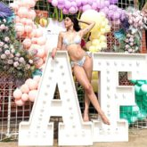 Alaya F sizzles in a bikini at her birthday getaway in Alibag