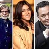 Amitabh Bachchan and Ekta Kapoor cancel Diwali parties this year on account of Rishi Kapoor's death