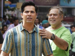 An ecstatic Varun Dhawan shares behind-the-scenes pictures from Coolie No. 1 with David Dhawan