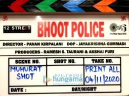 On The Sets From The Movie Bhoot Police