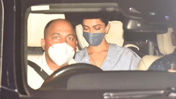 Deepika Padukone, Ananya Panday, Siddhant Chaturvedi spotted at Private Airport