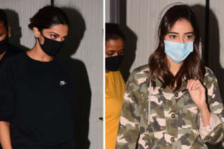 Deepika Padukone and Ananya Panday spotted at Gateway of India post-shoot