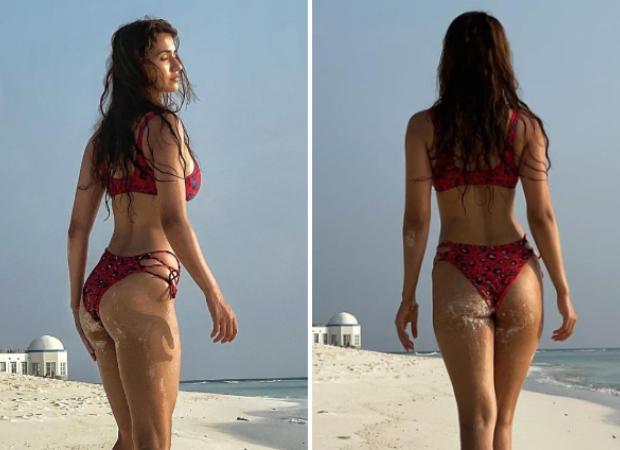 Disha Patani sets the temperature soaring in bikini during Maldives vacation
