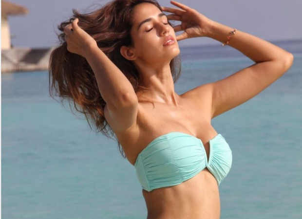 Disha Patani once again stuns in a bikini from her Maldives vacation