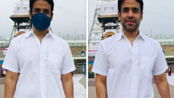 EXCLUSIVE: Ahead of Akshay Kumar's Laxmii release, producer Tusshar Kapoor seeks blessings at Tirupati Balaji