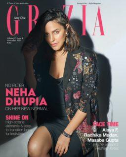 Neha Dhupia On The Covers Of Grazia