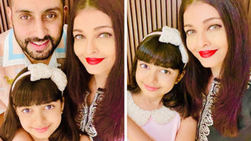 INSIDE PHOTOS: Aishwarya Rai Bachchan and Abhishek Bachchan celebrate Aaradhya Bachchan's 9th birthday at home