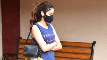 Janhvi Kapoor spotted at Pilates Bandra