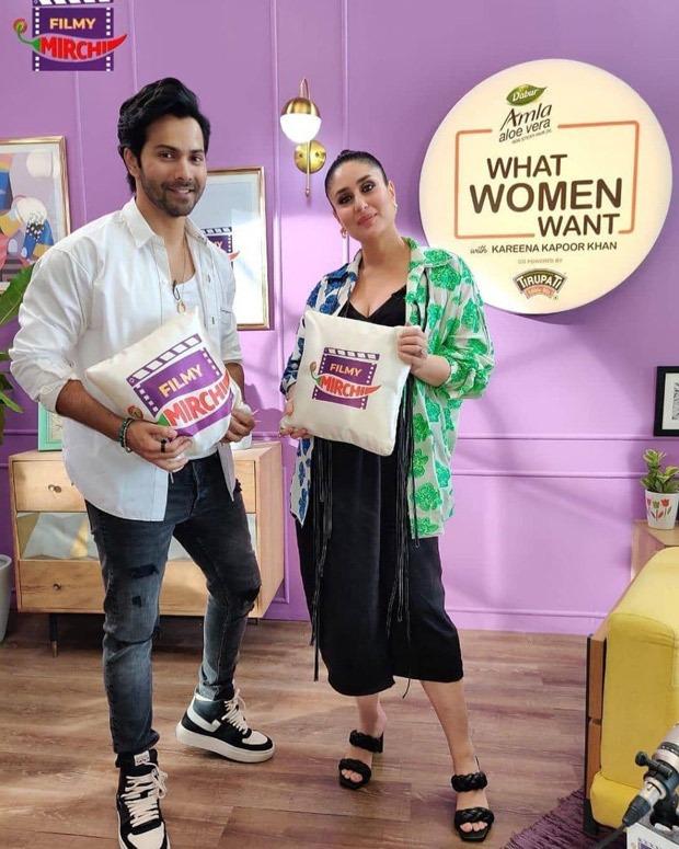 Kareena Kapoor Khan hosts Varun Dhawan on new season of What Women Want, Dia Mirza and Ananya Panday to be next guests